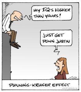 Dunning Krugers Effect Cartoon