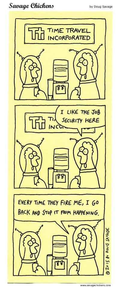 Job Security Cartoon